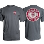 "Dubuque Fighting Saints Adult T-Shirt ""Western"""