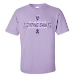 "Dubuque Fighting Saints Adult T-Shirt ""Fighting"""